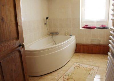 Salle de bain Chambre d'hote Meursault Vrilles Chouet